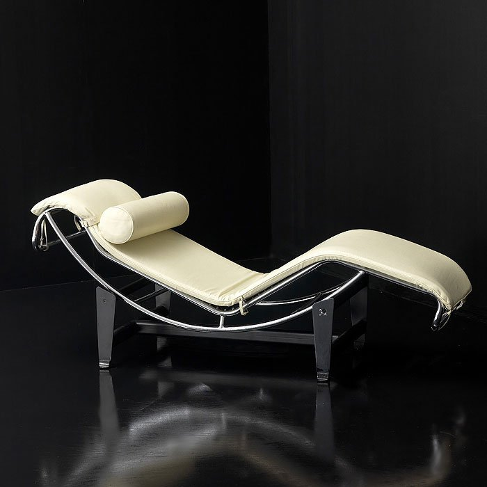 chaise longue le corbusier. Black Bedroom Furniture Sets. Home Design Ideas