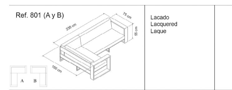 Sof privasso terraza for Medidas de sillones
