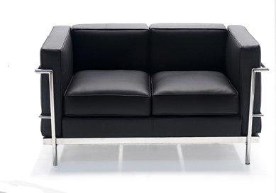 sofa-le-corbusier-2-plazas - www.muebles.com
