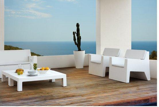 Sofa jut vondom for Colchoneta sofa exterior