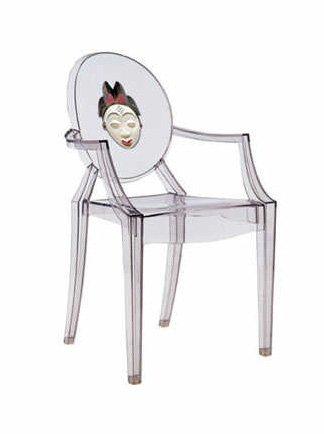 silla louis ghost cara china