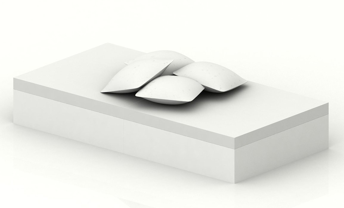 Mesa y puf quadrat de vondom for Sofa cama chester precio