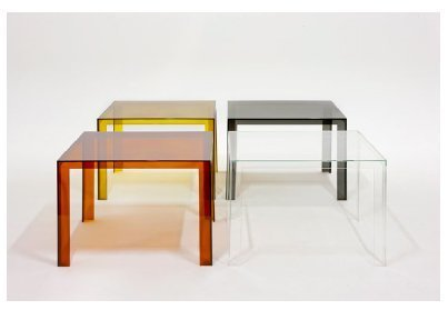 Mesa Invisible Kartell - www.muebles.com