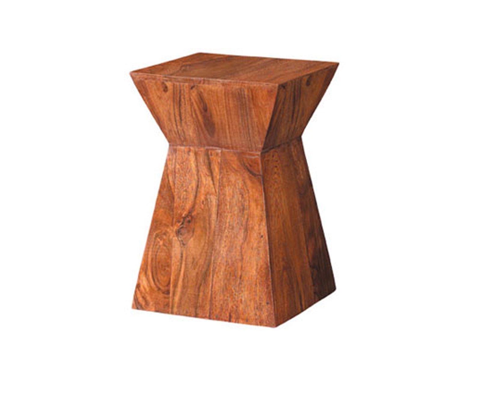 Taburete madera maciza nobile - Taburete de madera ...