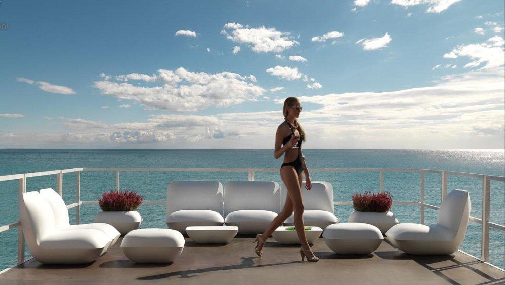 Muebles terraza for Bancos para terrazas baratos