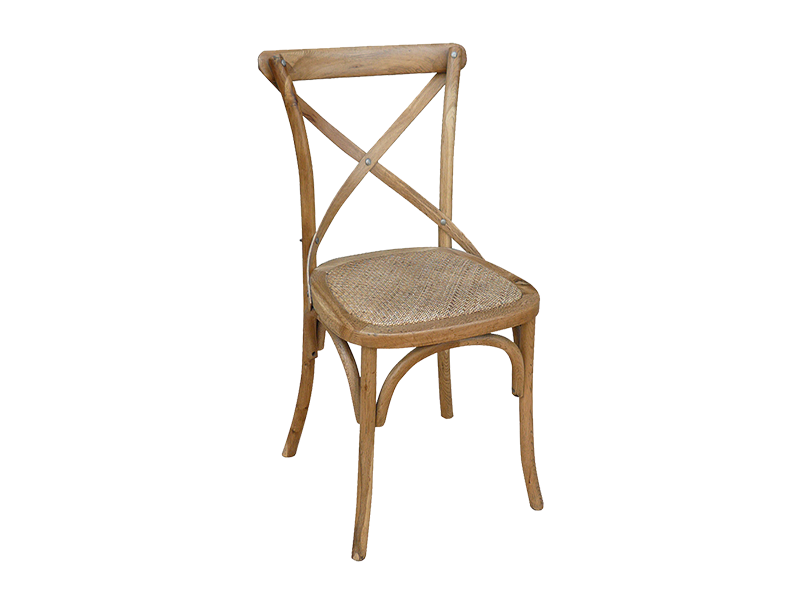 Silla colonial rattan for Rattan muebles