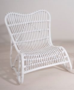 Sillon Natural Blanco