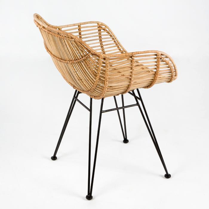 silla mimbre design