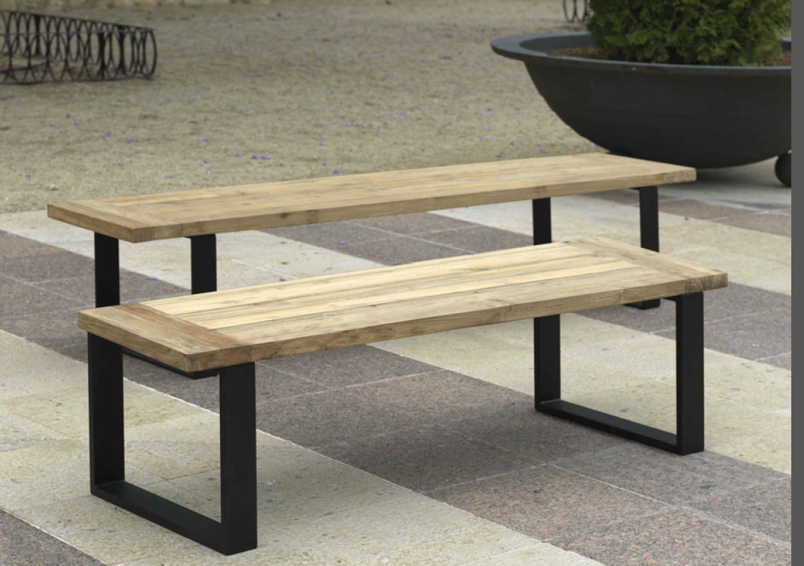 Muebles terraza baratos obtenga ideas dise o de muebles for Bancos de madera para jardin baratos
