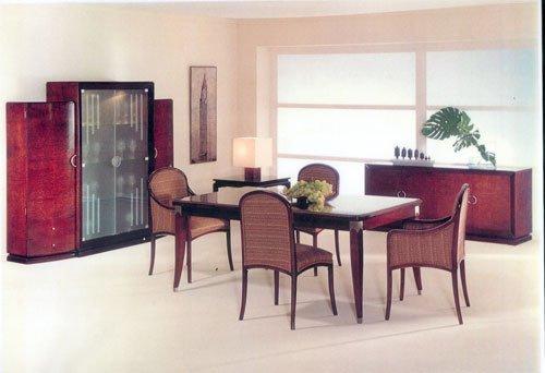 Un apartamento con muebles art dec - Art deco muebles ...