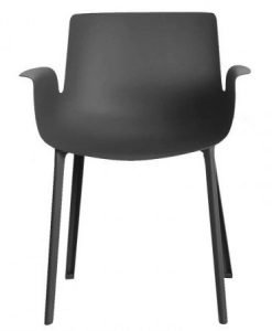 kartell-silla-piuma-negro