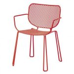 Silla Ivy Emu color rojo