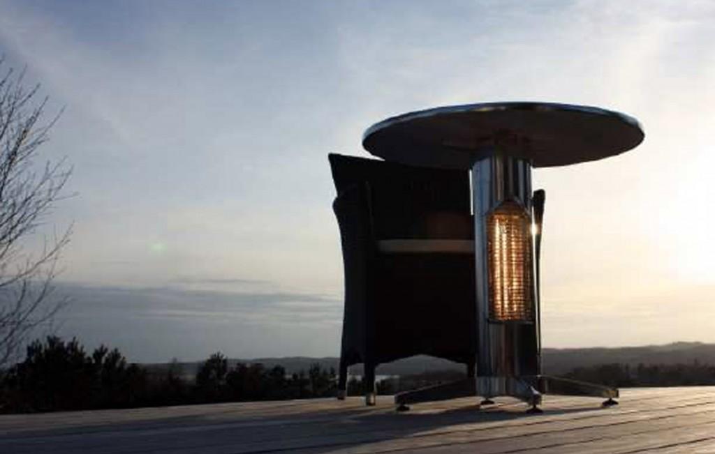 Mesa brasas4 for Estufas para terrazas