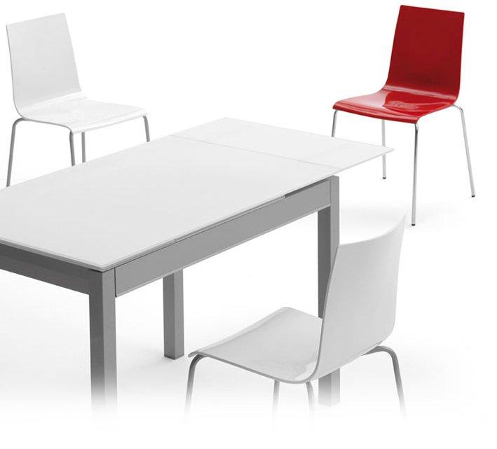 Mesa cocina serie 601 tres opciones encimera www - Mesa cristal blanco ...