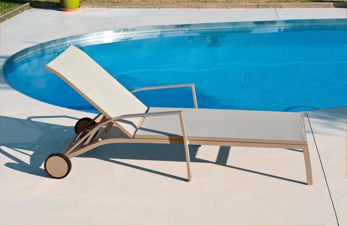 Tumbona terraza exterior - Tumbonas piscina ...