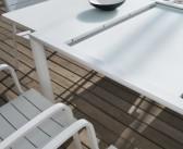 Mesa extensible brisa en blanco