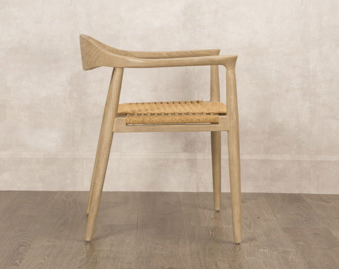 Silla kennedy asiento rattan for Muebles de oficina kennedy