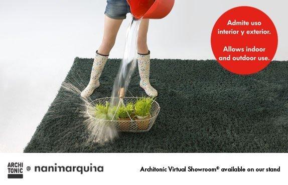 Alfombras para exterior de nani marquina que presentar en milan - Nani marquina alfombras ...