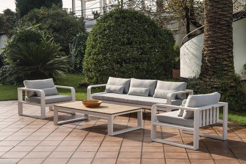 Sillon terraza aluminio fc for Sofa exterior terraza