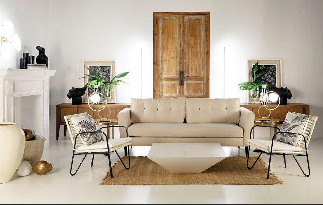 Sof florida 3pz - Sofas estilo colonial ...